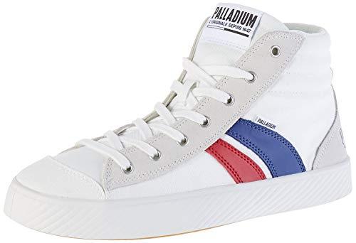 Palladium Unisex Plphoenix LCR U Hohe Sneaker, Weiß Star White French S97, 39 EU