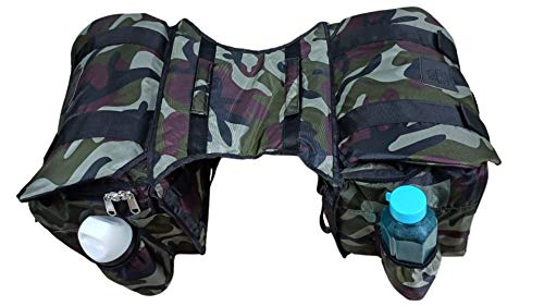 SaharaSeats Two in One Travelling Saddle Bag for Royal Enfield All Models, Universal Product (Camouflage)