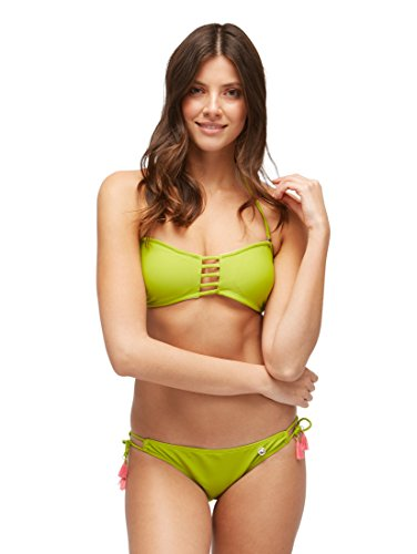 TOM TAILOR Damen Nightwear Bikini Slip mit Bindeband seitlich Dark Citron,40,P504,7000