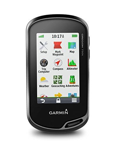 Garmin - Oregon 750t - GPS de randonnée - Ecran tactile 3'' - Carte TopoActive Europe préchargée - Noir