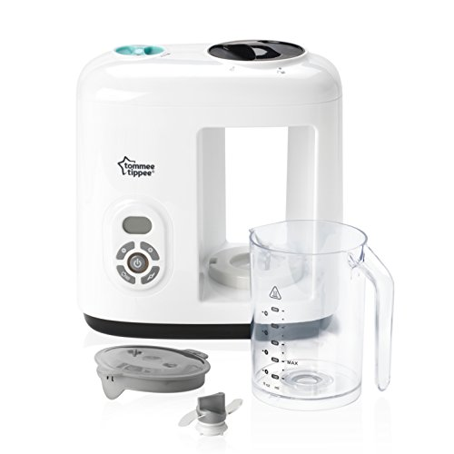 Tommee Tippee 440065 Dampfgarer & Mixer für Babynahrung, weiß - 3