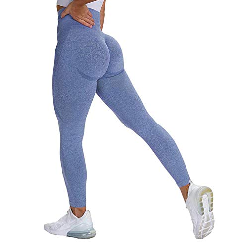 Generise Mujer Elástico Basculador Pantalones, Chandal Fondos Deportes Pantalones Deportivos, Rutina De Ejercicio Gimnasio Legging Alto Cintura Aptitud Yoga Pantalones, Flaco Fajas Deportes Polainas