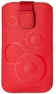 Funda con Estampado Rojo para Cubot X9Carcasa Slim Case Cover Funda Rojo