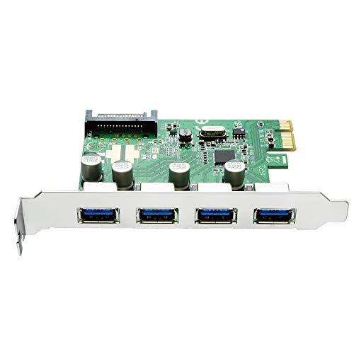AREA 4ポートUSB3.0増設できるPCI Express x1接続のUSB 3.0増設カード 4WING Force SD-PEU3V-4E3