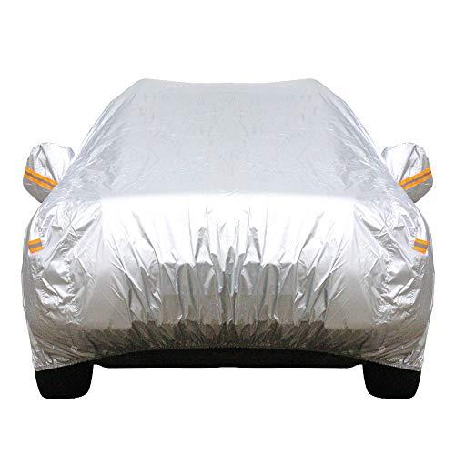 Preisvergleich Produktbild WEIZHUANGZHE 13 Größe wasserdichte Autoabdeckung SUV Auto Limousine Schrägheck Sonne Regen Frost Schnee Staubschutz Anti-UV-Abdeckung Autozubehör,  China,  3L