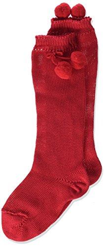 Condor 2504/2 Calcetines, Rojo (Rojo 550), 2 años (Tamaño del fabricante:2) para Niñas