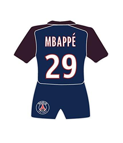 PSG Magnet Maillot MBAPPE Mixte Enfant, Noir