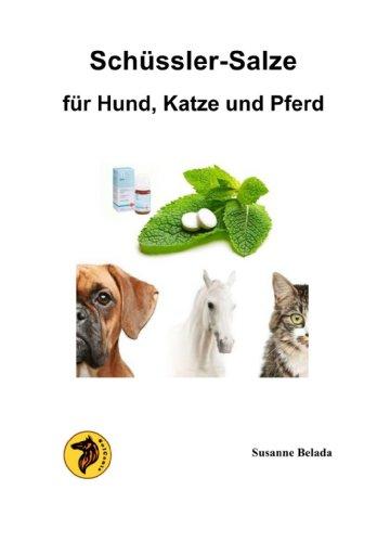 Schüssler-Salze für Hund, Katze und Pferd