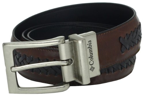 Casual for Mens Jeans with Double Sided Strap Columbia Reversible Leather Belt