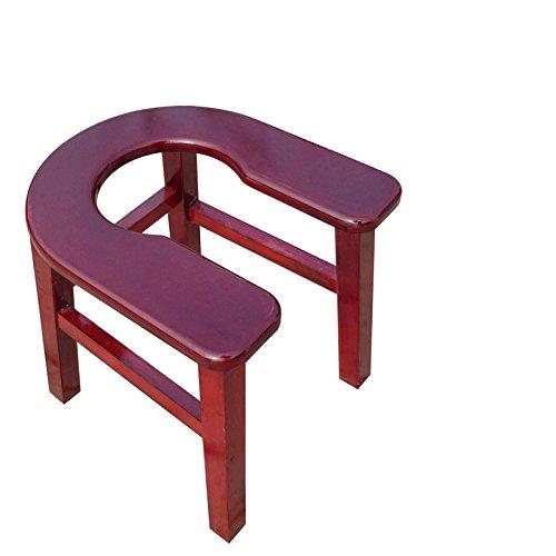 Vieille femme enceinte U Tabouret Chaise Toilette Tabouret de siège Chaises de toilette Tabouret Chaises (Couleur : A)