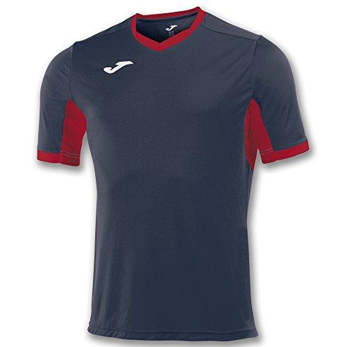 Joma Champion IV M/C Camiseta Equipamiento, Hombre, Marino/Rojo