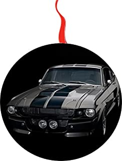 1967 Shelby Mustang Gt 500 Christmas Tree Holiday Ornament Printed Double- 2 Sided Decoration Great Unisex
