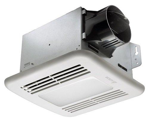DELTA ELECTRONICS (AMERICAS) LTD. GBR80HLED Delta BreezGreenBuilder Series 80 CFM Fan/Dimmable LED Light with H sensor