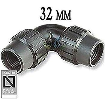 Adequa MEP-32 Enlace Recto de Polipropileno Reforzado con Fibra de Vidrio 32 mm