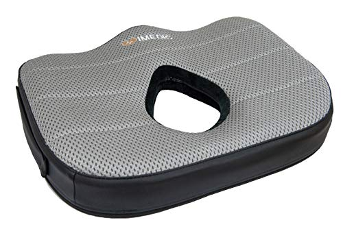 iMedic | Sitzkissen aus Memory-Schaum | Ultra-Luxus-Edition | Ergonomische Steißbeinstütze