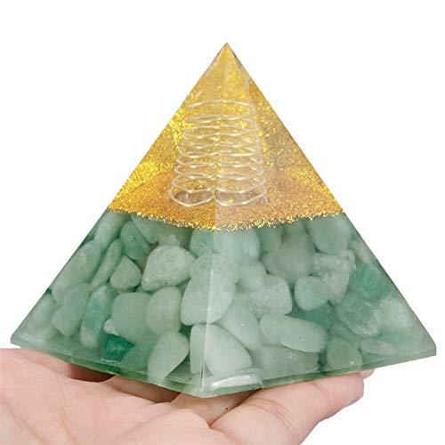 ZTTT Grüne Aventurin-Kristallpyramide
