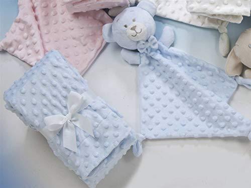 LANOVENANUBE - Pack Dou dou y Manta Infantil 10459 - 80x110 - Color Azul