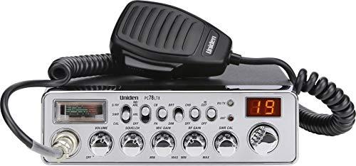 Uniden PC78LTX 40-Channel Trucker's CB Radio with Integrated SWR Meter