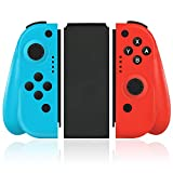 Wireless Joy Pad Controller for Nintendo Switch, Replacement Joy Con with Redesigned Ergonomic…