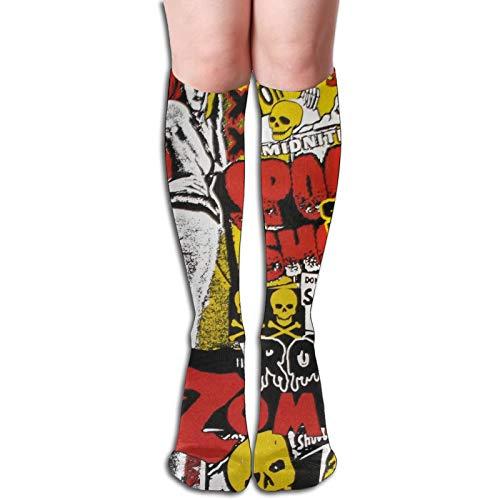 Zombie Running Calcetines acolchados anti am deportivos calcetines sin olor calcetines de entrenamiento para hombres y mujeres, calcetines de algodón para mujer, calcetines de compresión de corte bajo