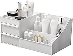 Baffect Desktop Cosmetics pudełko do przechowywania z szufladami, organizer do makijażu, szuflady, organizer na biurko, or...