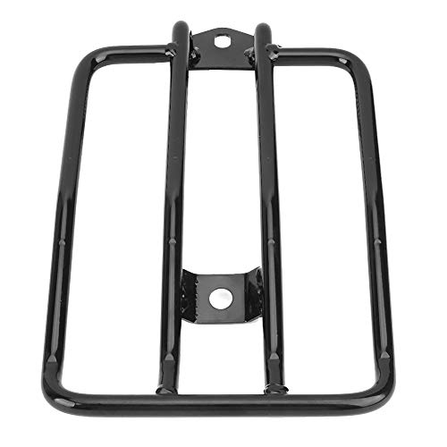 Motorcycle Luggage Rack, Motorcycle Luggage Rack, Motorcycle Rear Luggage Rack Carrier Support Compatible with XL883/ 1200 X48 Modified Parts (Black)