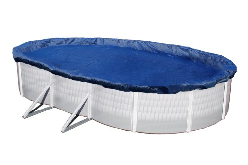 Blue Wave Gold 15-Year 12-ft x 24-ft Oval Above Ground Pool Winter Cover