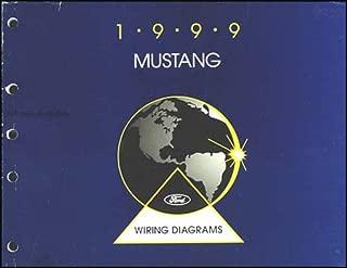 1999 Ford Mustang Wiring Diagram Manual Original