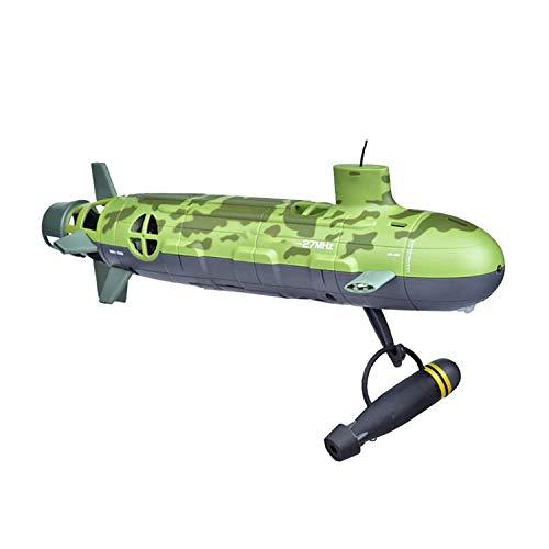 MYRCLMY RC Boat Control Remoto Submarino Buceo Modelo De Juguete Regalo para Adultos Y Niños Barco Eléctrico Nuclear Submarino Grande Submarino Modelo De Buque De Guerra De Juguete