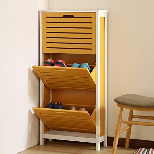 ZXL Schoenenkast voor schoenen in de woonkamer, minimalistisch, modern, deelbaar, klein