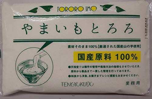 冷凍 やまいも とろろ ( 山芋 ペースト ) 1kg 国産 業務用