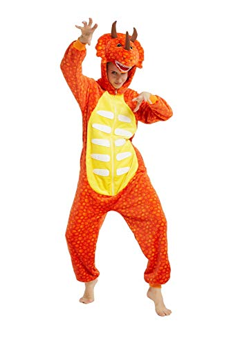 emmarcon Kigurumi Schlafanzug, Overall, für Karneval, Halloween, Cosplay, Unisex S