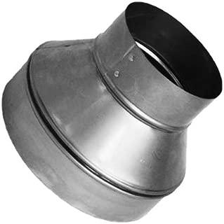 Speedi-Products SM-RDP 43 4-Inch by 3-Inch Round Galvanized Plain Reducer