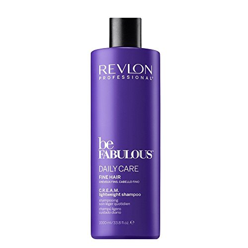 Revlon Be Fabulous Daily Care Fine Hair Cream Shampoo Champú - 1000 ml