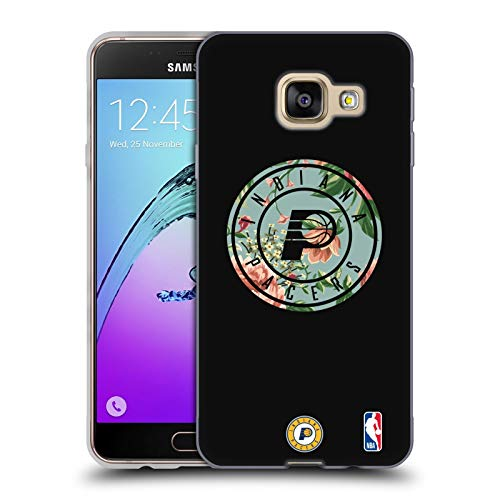 Head Case Designs Ufficiale NBA Floreale 2019/20 Indiana Pacers Cover in Morbido Gel Compatibile con Samsung Galaxy A3 (2016)