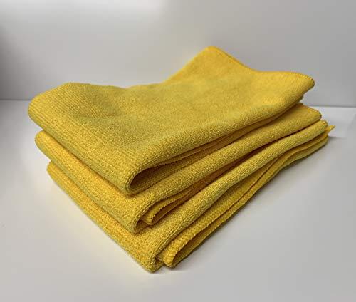 Jemako Profituch 3er Set in gelb - Grösse je Tuch ca. 35 x 40 cm