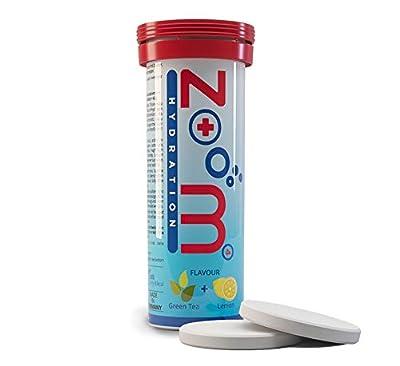 """ZooM - HYDRATION – das Elektrolytgetränk für alle Sportler. ?4 Mineralien in einem optimalen Verhältnis mit Geschmack Grüner Tee & Zitrone. ?10 Brausetabletten """"Made in Germany""""."""