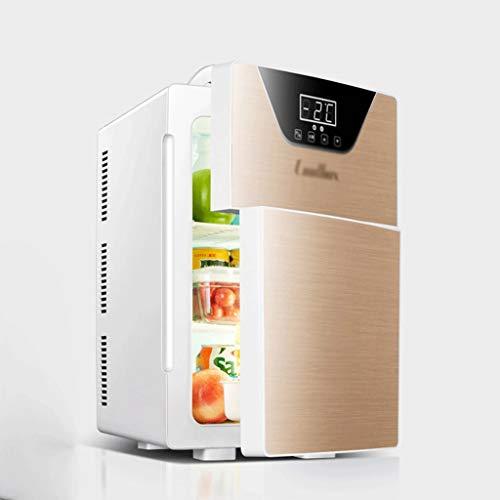 GJHBFUK Refrigerador 20L Mini refrigerador de Doble Puerta refrigerador pequeño Temperatura Muy...