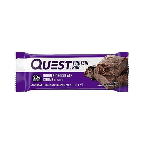 Proteinriegel mit doppeltem Schokoladenstückchenaroma von Quest Nutrition, 12er-Packung