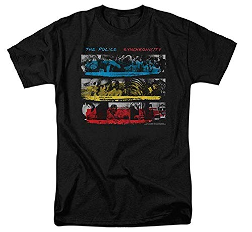 NR The Police Synchronicity Album T Shirt & Stickers