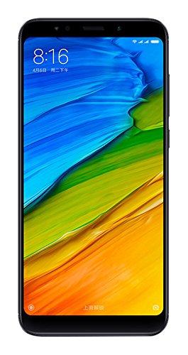Xiaomi Redmi 5 Plus Smartphone da 5,99 pollici Full HD+, Snapdragon 625 1,8GHz, 3GB RAM, 32 GB ROM, 12MP Camera, Dual SIM, Nero [Italia]