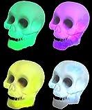 Mondial-fête - Mini cráneo luminoso, 5
