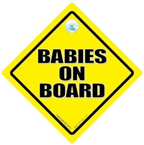 Bébé on Board, Bébéà Bord, on Board, Bébé Unisexe Jaune et Noir Traditionnel, Baby on Board, Bébéà Bord, Panneau Bébéà bord, maternité, grossesse, bébé Coque, signe, autocollant, en voiture, autocollant, petit-enfant à bord