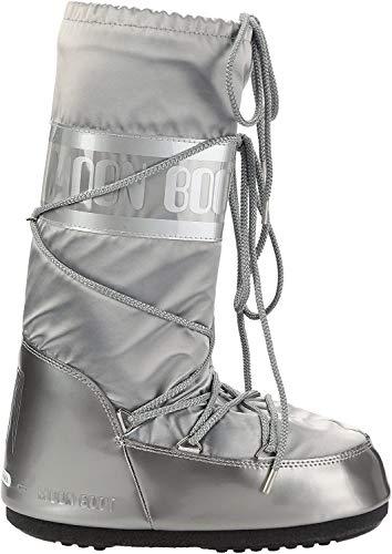 Moon Boot Glance, Boots femme - Argent (Argento), 35-38 EU