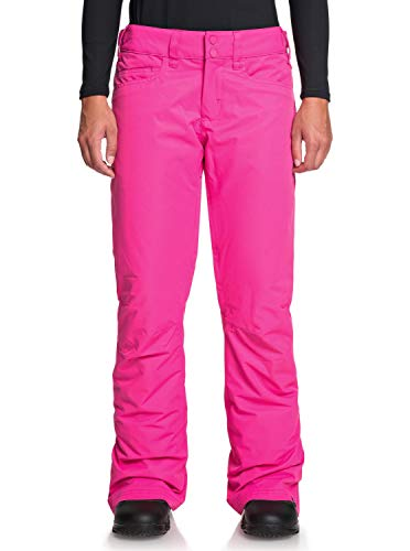 Roxy Damen Snow-Hose Backyard - Snow-Hose Für Frauen, Beetroot Pink, M, ERJTP03091