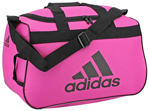 adidas Unisex Diablo Small Duffel Bag, Intense Pink/Black, ONE SIZE