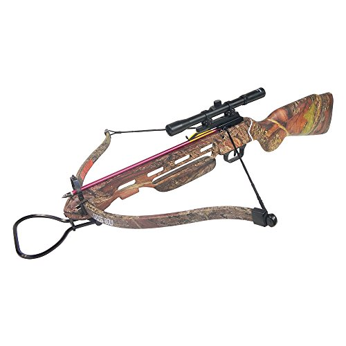 150 lb Desert Camouflage Hunting Crossbow Bow + 4x20 Scope +...