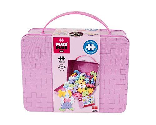 PlusPlus 52351 Plus Big 70 Metall-Koffer Set Pastel-52351, bunt
