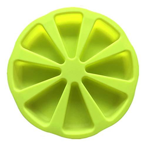ningdeCK Molde 3D de silicona para tartas de pizza molde para magdalenas...