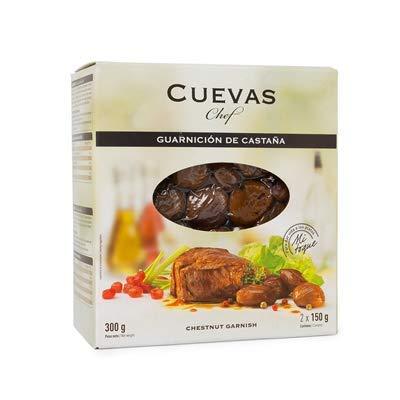 Cuevas Chef- Castaña Guarnicio - Para dar Vida a los Platos - Imprescindible en la Cocina de Vanguardia - 300 Gramos